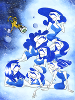 Those Gorgeous Pleiades by Mustard-Halibut