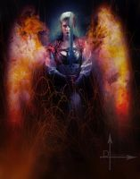 Sooki the Sorceress by jagged-eye