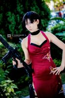 Ada Wong, Resident Evil by fritzfusion