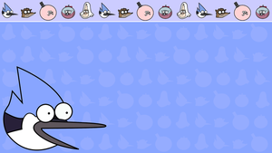 Regular Show Mordecai Wallpaper by TheDorknight