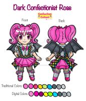 Chibi Dark Confectionist Rose by YuniNaoki