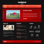 Mediahub website by sidath