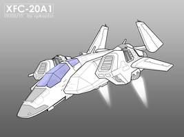 XFC-20A1  Strike Spacecraft by vpRaptor