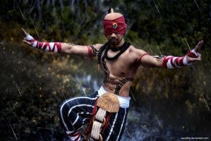 Lee Sin, The Blind Monk by Lilaeroplane
