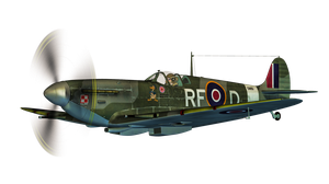 Aircraft 01 PNG Stock by Roys-Art