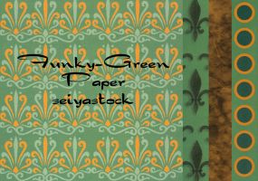 Funky Green Backgrounds by seiyastock
