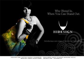 Magazine Ad for Hidesign by PistachioSnails