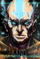 Aang the badAass by Dr-Carrot