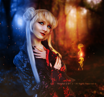 Heart Flame by ROSALIAN