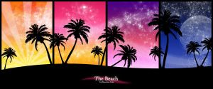 The Beach by Starjammer