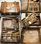 Steampunk Tinkerer's Box by elvaniel