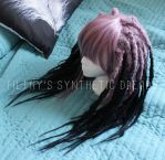 Synthetic dread wig - purple and black by FilthyDreads