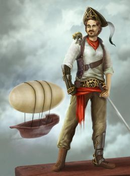 Pirate by sillver-lady