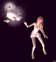 Serah Farron and Mog - Happy Fun Times - 09 by HentaiAhegaoLover