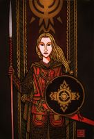 Shield Maiden Of Rohan by timshinn73