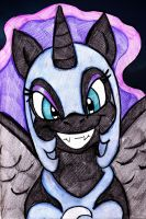PS: Nightmare Moon by mhedgehog21