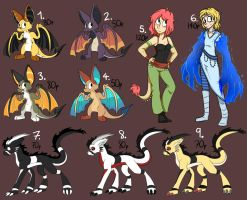 ~Species Adopt Sheet~ by Charlockle