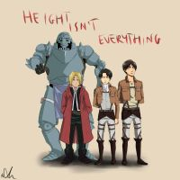Height isn`t everything by Sango94