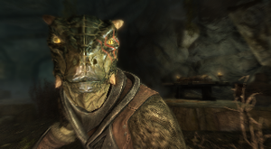 Reptilikus the Argonian - Skyrim by Tryzon
