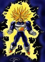 Trunks SSJ II by sennar86