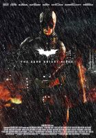 Batman The Dark Knight Rises Movie Poster by Olenar