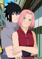 SasuSaku to Valentine's Day. by byBlackRose
