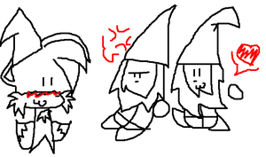 Gnomes and Knomes Collide O.O by explodingcrayon93