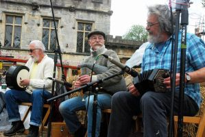 Pipes, Drum and Squeeze Box... by EarthHart
