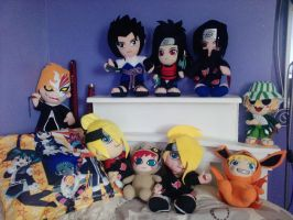 MUAHAHAHAHA Plushies... by 12bubbles12