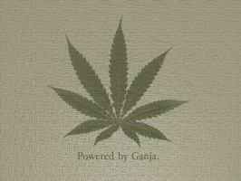 Powered By Ganja by Club-Marijuana