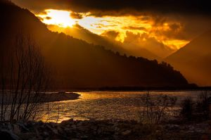 Gold River... by Mikelyjohnsono