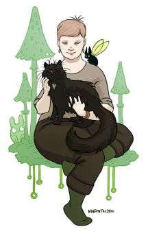 Me and Teppo by Myrntai