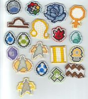 Cross Stitch Patches 4 by purenightshade