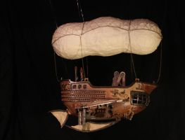 Cargo Dirigible by Blue-Pixie-Stick