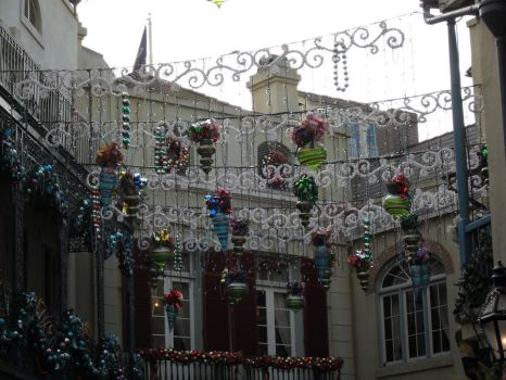 Festive New Orleans Square by CrazyCartoonGirl