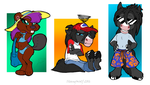 Chibis: Round 1 by StangWolf