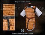 Longbard lamellar armour by TheIronRing
