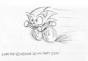 SONIC OF EUAN by soncomsketchbook