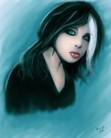 Gothic Girl by ForbiddenWhispers