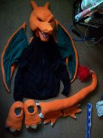 Charizard Partial Costume 1 by DarkDragonKai