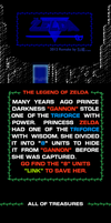 LOZ Title Screen Scroll Remake by BLUEamnesiac