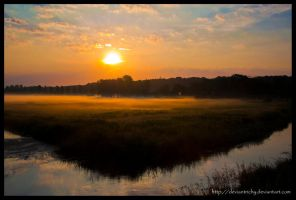 Misty Sunrise by Deviantrichy