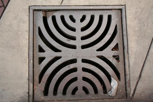 Metal Grate by RibbonsEnd-Stock
