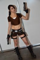 Lara Croft LEGEND3 - Igromir'12 by TanyaCroft