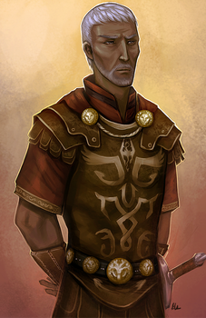 Commission - General Tullius by Serpentwined