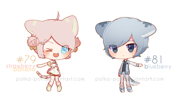 MS: OTA pink n blue [closed] by Polka-Pot