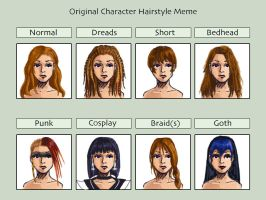 Hairstyle Meme by AutumnEmbers