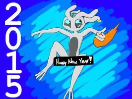 Happy New Year 2015 by Scarefish