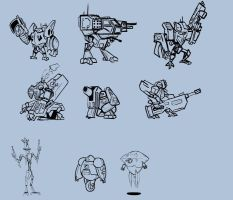MechDesigns by UWfan-Tomson
