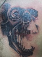 chest skull close up by accomplicefarrell